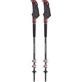 Black Diamond Trail Pro Shock - Bâtons Homme - gris/rouge